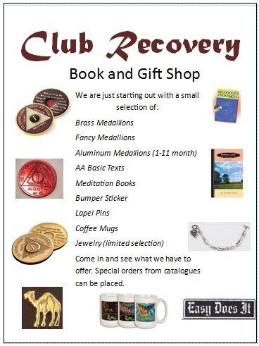 Gift Shop information