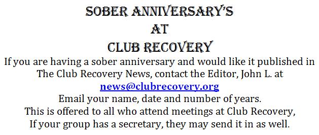 Newsletter Anniversary's(1)